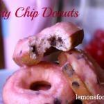 Cherry Chip Donuts - Lemons for Lulu | Lemons for Lulu