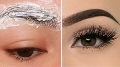 In this video i will show How to grow long thick eyelashes & eyebrows FAST, Guaranteed Longer and thicker eyelashes. grow eyebrows naturally, grow eyebrows n. Long Thick Eyelashes, Thin Eyebrows, How To Grow Eyebrows, Thicker Eyelashes, Eyelashes Grow, Sparse Eyebrows, Thicker Hair, Mink Eyelashes, How To Thicken Eyebrows