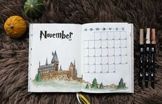 Bullet Journal – Harry Potter Monthly Theme STICKERS!