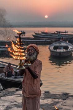 Ganga Aarti, Varanasi, India