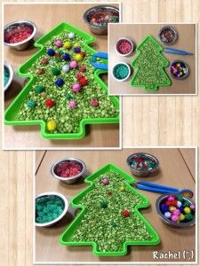 "Simple fine-motor Christmas fun - from Stimulating Learning with Rachel ("",)"