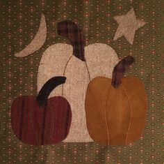 FREE pattern by Jeni of Woolen Willow Designs for the 2016 Farmhouse Threads and Friends Harvest Mystery Quilt BOM Blog Hop.