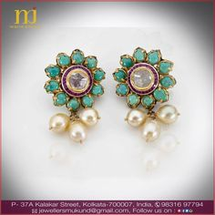 Designs that speak contemporary yet ethnic. Visit Mukund Jewellers to witness many more such designs.