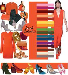 Color Wheel Fashion, Colour Combinations Fashion, Color Combinations For Clothes, Fashion Colours, Colorful Fashion, Deep Winter Colors, Pantone Colour Palettes, Color Pairing, New Fashion Trends