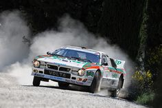 Lancia 037 Group B Rally Car / rwd comitment