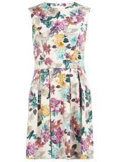 Floral prom dress  Was £39.50  Now £22.00  Colour: Grey  Item code: 07604510