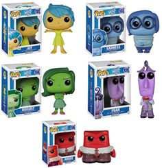 Pre-Order Funko POP Disney Pixar Inside Out Figures