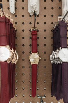 BERG+BETTS sustainably made watches. Our watches are ethically manufactured and our straps are made from high-quality leather that would have otherwise gone to waste We Watch, Mindful, Watches, Leather, Accessories, Collection, Clocks, Clock