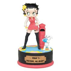 Betty Boop Musical Figurine  1960s Picture Me, Baby Home