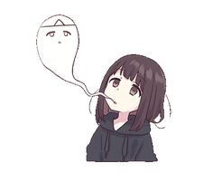menhera chan - Thelma M. Anime Neko, Cute Anime Chibi, Cute Anime Pics, Fanarts Anime, I Love Anime, Manga Anime, Kawaii Chan, Loli Kawaii, Kawaii Anime Girl