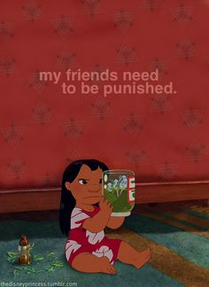 classic. i relate to Lilo so much