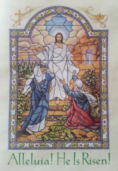 Alleluia!  He is Risen!  He is Risen Indeed!  #Easter #Jesus
