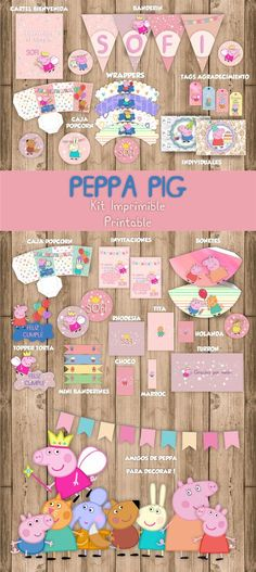 eppa This halloween is definitely a favourite pre-school Pig Birthday, 2nd Birthday Parties, Second Birthday Ideas, Birthday Party Decorations, Peppa Pig Pinata, Cumple Peppa Pig, George Pig Party, Peppa Pig Invitations, Pig Candy