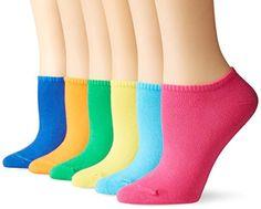 Women's Cotton Liner No-Show Sock 6-Pack