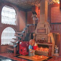 Лофт с камином, чай с печеньем ☕ Just December morning❄❄❄ ... #лофт #loft