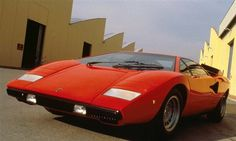 Lamborghini Countach, bit mad but genius