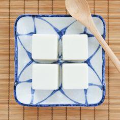 Thirsty For Tea Dim Sum Recipe Coconut Milk Pudding Coconut Milk Pudding, Coconut Jelly, Coconut Desserts, Asian Desserts, Chinese Desserts, Chinese Recipes, Jelly Recipes, Whole Food Recipes, Vegan Recipes