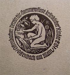 Rudolf Koch / Bookplate