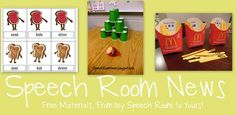 Speech Room News Blog by Jenna Rayburn M.A., CCC-SLP-sharing fun treatment ideas and technology tips. Pinned by SOS Inc. Resources.  Follow all our boards at http://pinterest.com/sostherapy  for therapy resources.