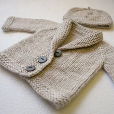 We Like Knitting: Baby Sophisticate - Free Pattern