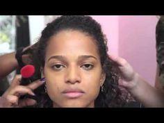 Maquiagem completa para peles morena - YouTube