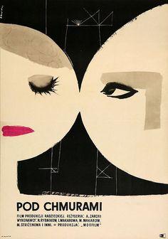 1957 poster for Height/Vysota (Alexander Zarchi, USSR, 1957).