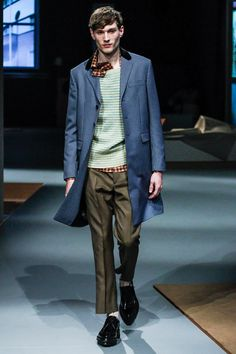 See the complete Prada Fall 2013 Menswear collection.