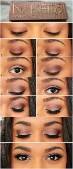 ive been against this pallette because i have a bh consmetics palette that has so many colors...but the naked is great for neutrals/everyday. might consider getting one...Pictorial: UD Naked 3 Smokey Eye | Kay's Couture
