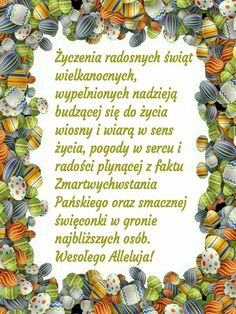 Discover recipes, home ideas, style inspiration and other ideas to try. Beautiful Gif, Motto, Happy Easter, Humor, Holiday, Quotes, Cards, Poland, Anna