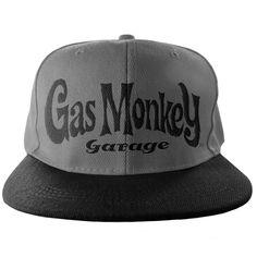 a252d022fe5 Gas Monkey Garage baseball Cap GMG Logo Grey Snapback - Paradiso Clothing