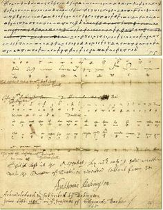 The coded letter and the cipher that brought down Mary, Queen of Scots in 1586
