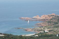 #coast #sardinia #sea #boat #italy #nature by Steve Winsper
