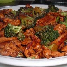 Chinese Chicken with Broccoli; absolutely obsessed with this