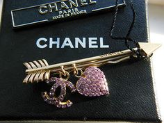 Chanel Hair Barrette Arrow