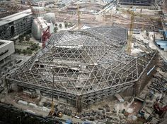 architecture steel frame buildings under construction - Google Search