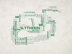 Slytherin. Very cool.