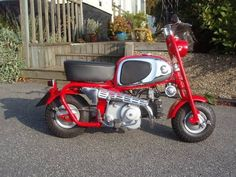 Vintage Honda Monkey Bike. Beautiful!