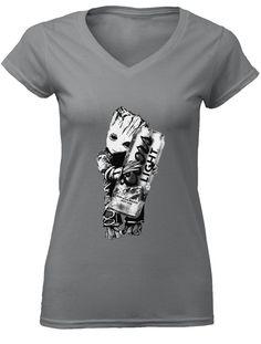 32d2385ae3a Baby Groot hug Coors Light shirt