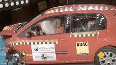 Volkswagen Up! (com airbag) Estrelas: 5 para adultos e 4 para crianças.