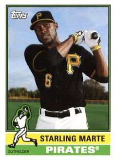 2015 Topps Archives #111 Starling Marte Front