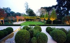 Wimbledon Garden by Charlotte Rowe, in south London, won the Medium Residential Award