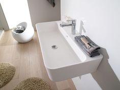 O lavatório é geralmente um dos protagonistas indiscutíveis da casa de banho.