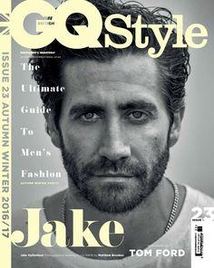 Jake Gyllenhaal, photographed by Matthew Brookes for GQ Style UK, A/W Gq Style, Jake Gyllenhaal, Actrices Sexy, Donnie Darko, Uk Fashion, Style Fashion, Fashion Trends, Gorgeous Men, Most Beautiful Man