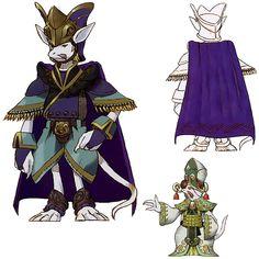 Week 9 - Final Fantasy IX - Concept Art Mon - Burmecian