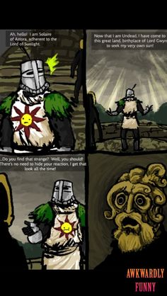ROFL, this is funny Dark souls comic