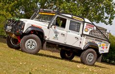 Land Rover Defender 110 Td4 Sw DCH prepared for 4x4 Off road adventure. Rallyewerk