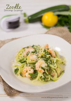 Zoodle Shrimp Scampi is healthy, delicious, and so easy to make. This is our favorite quick dinner! If you haven't noticed already, I love seafood. And all of my kids do too. Well, all of them except my picky eater, but he doesn't like anything, so he doesn't count. And I also really love zucchini!... Read More »