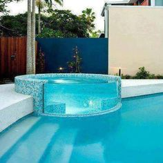 That's a cool pool