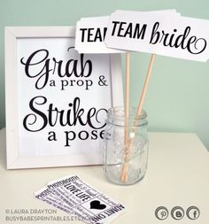 Make a Bachelorette Party Photo Booth!