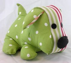 Green Dog Doorstop | Coast & Country Interiors
